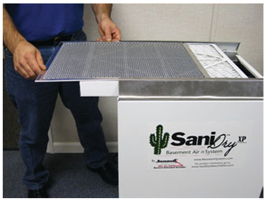 SaniDry Basement Air Systems